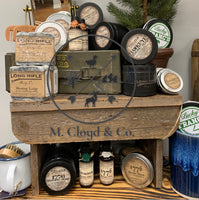 Long Rifle Soap Co. • Hunting Lodge • Shaving Puck