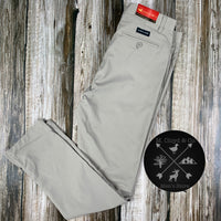"[50% off] Southern Marsh Peterson Performance Light Grey Pant 34-40 (32"" Inseam)"