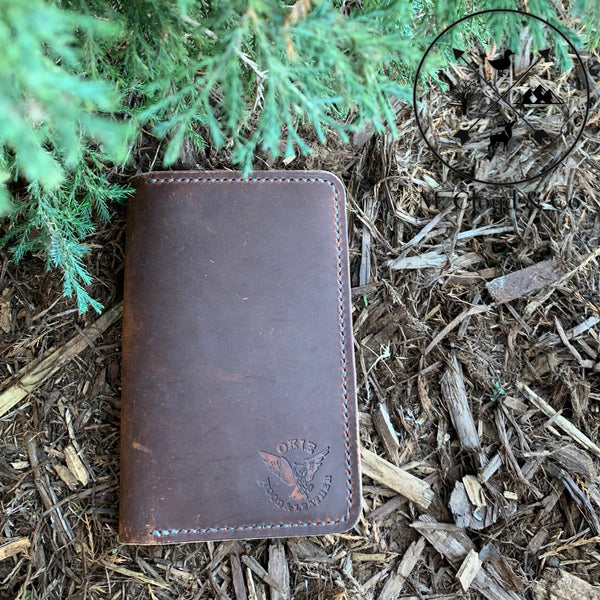 Okie Wood & Leather Field Notes Notebook
