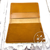 Mission Leather Co. Bifold Wallet [TAN]
