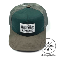 COAL HEADWEAR The Highland Charcoal Low Profile Unstructured Trucker Hat