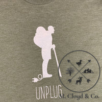 Mount Inspiration UNPLUG. Tee Size S & 2XL