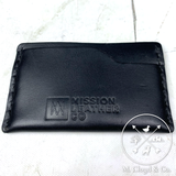 Mission Leather Co. Slim Wallet [BLACK]