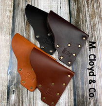 Load image into Gallery viewer, American Bench Craft Concealed Carry Riveted Leather Pocket Holster - Pick Your Color