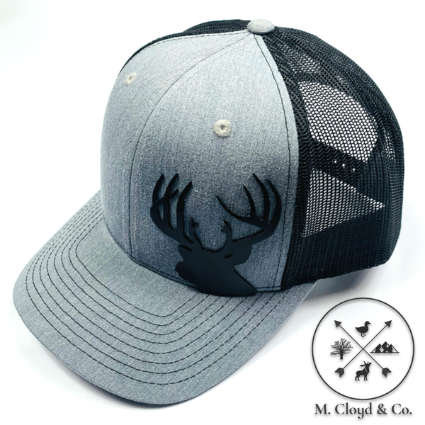 DIAMOND BILLS Buck Bullwinkle Grey Snapback Hat