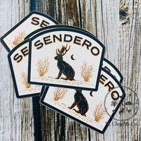 Sendero Provisions Co. Jackalope Sticker