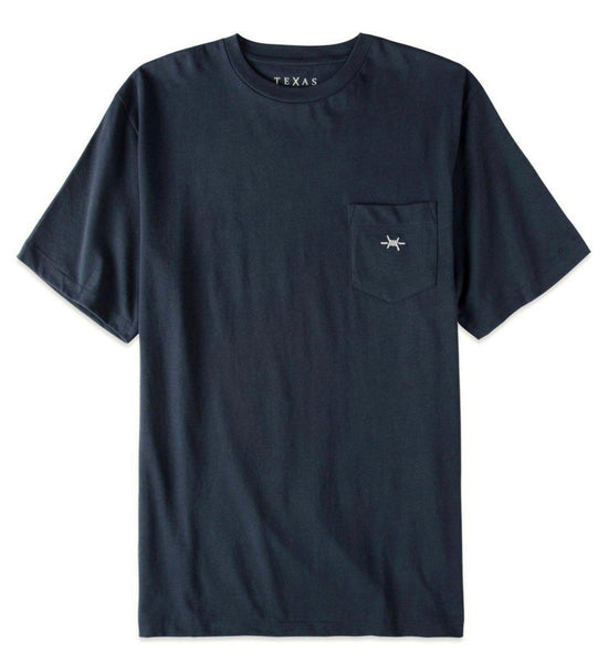 TEXAS STANDARD Pocket Tee [REPUBLIC NAVY] Size M