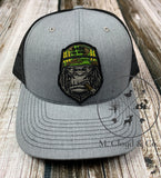 Born to Kill Gorilla Cigar Snapback Trucker Hat