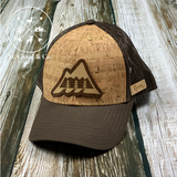 Great Outdoors Wood Inlay + Cork Snapback Trucker Hat