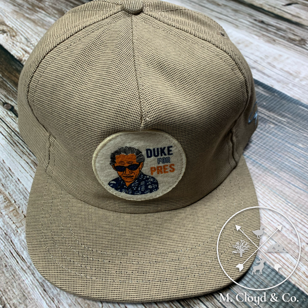The Ampal Creative Duke for Pres Strap Back Hat
