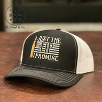 JUST THE TIP Embroidered Snapback Hat