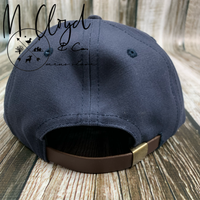 The Ampal Creative Roamed and Rambled Navy Strap Back Hat