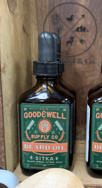 Good & Well Supply Co. • Sitka • Beard Oil