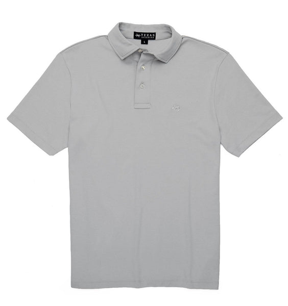 TEXAS STANDARD Performance Hybrid Polo [PIEDRA] L