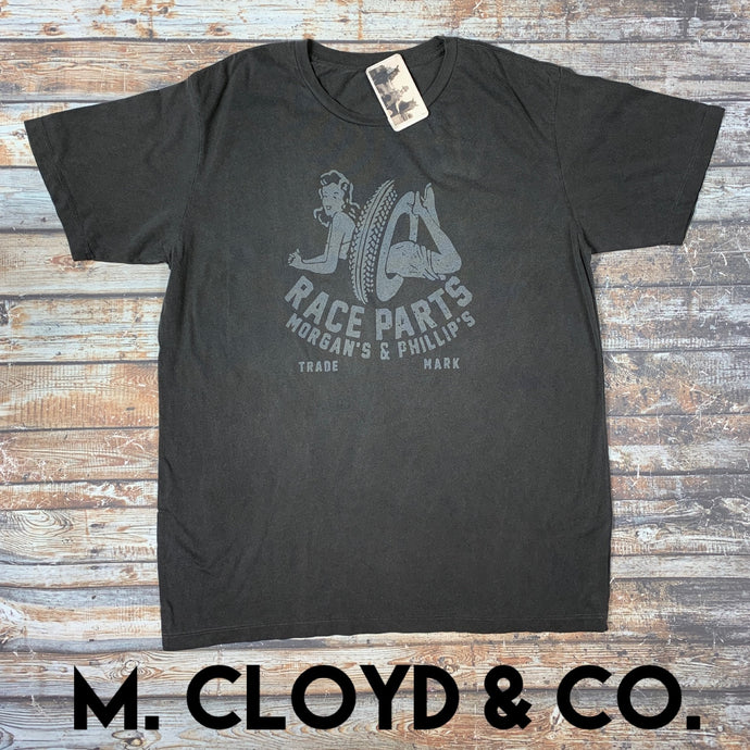50% off Morgan's & Phillip's Race Parts Tee Size XL, 2X