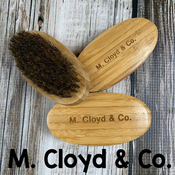 M. Cloyd & Co. Bamboo Boar Bristle Brush