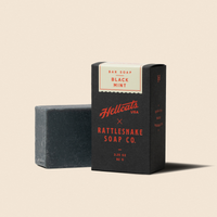 Rattlesnake Soap Co. Bar Soap [Black Mint]