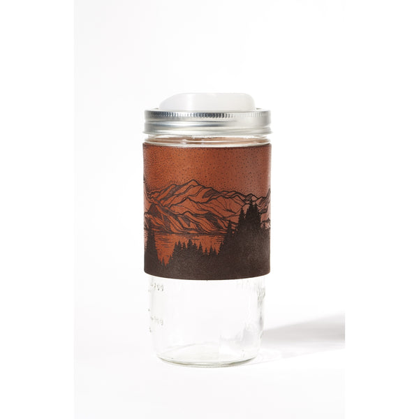 Park Leather Travel Mug
