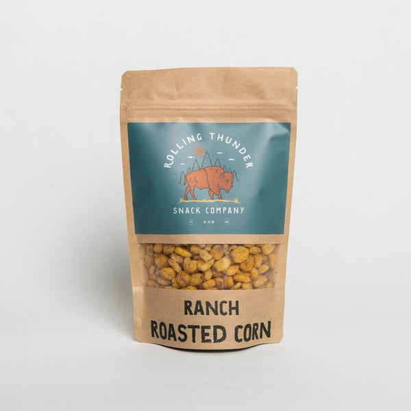 Rolling Thunder RANCH Roasted Corn Snack