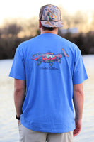 Burlebo Scenic Fish Tee Size S, M, L, XL, 2X