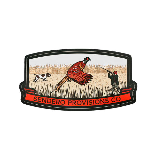 SENDERO Bird Hunter Sticker
