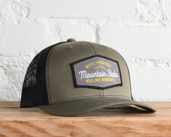 West Virginia The Mountain State Snapback Hat