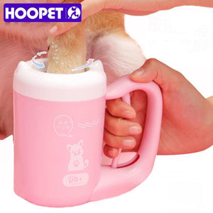 Portable Dog Paw Cleaner Cup - Silicone Plunger For Dirty Pet Feet