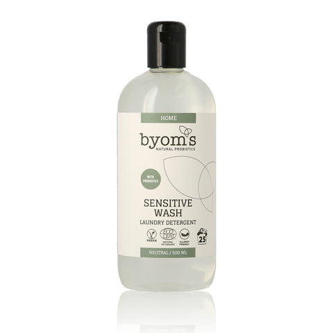 SENSITIVE WASH – PROBIOTIC LAUNDRY DETERGENT - NEUTRAL ECOCERT