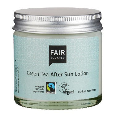 076 FAIR SQUARED Green Tea After Sun Lotion