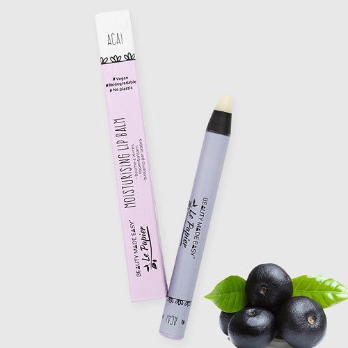 107 BEAUTY MADE EASY – LE PAPIER - LIP BALM - ACAI