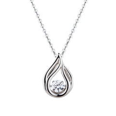 Pirouette Sterling Silver Necklace P1623