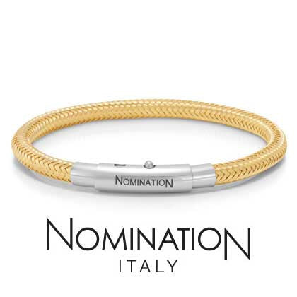 Nomination You Cool Yellow Friendship Bracelet