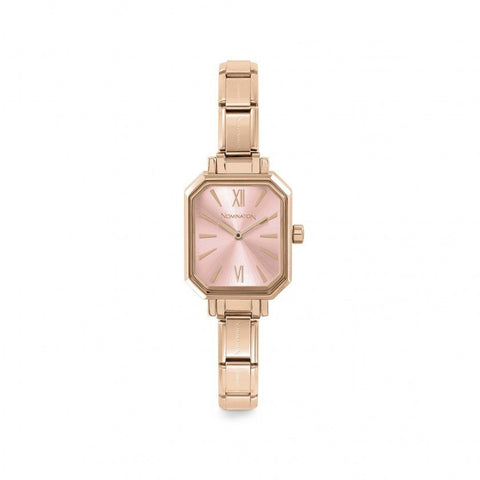Paris Pink  Rectangular Watch