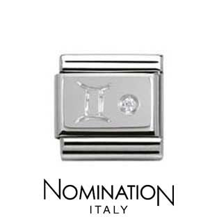 Nomination Gemini Charm