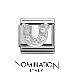 Nomination SilverShine Horse Shoe Cubic Zirconia