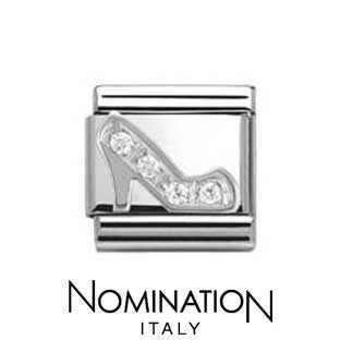 Nomination SilverShine Stiletto Cubic Zirconia Charm