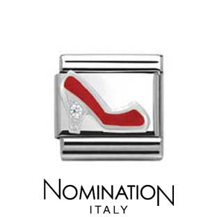 Nomination SilverShine Red Stiletto Charm