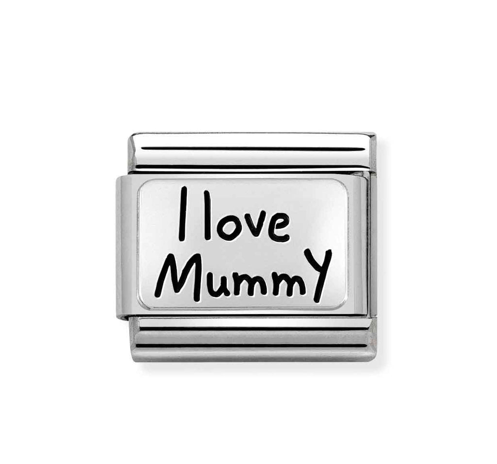 Nomination I Love Mummy Charm
