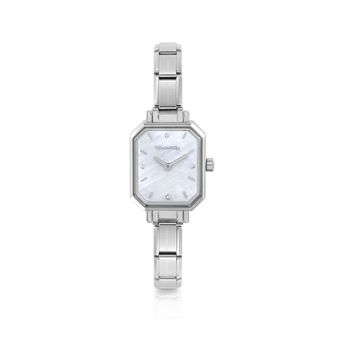 Paris Mother of Pearl Rectangular Watch