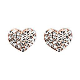 Pilgrim Rose Gold Plated Crystal Studs