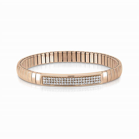 SWAROVSKI CRYSTAL ROSE GOLD EXTENSION BRACELET