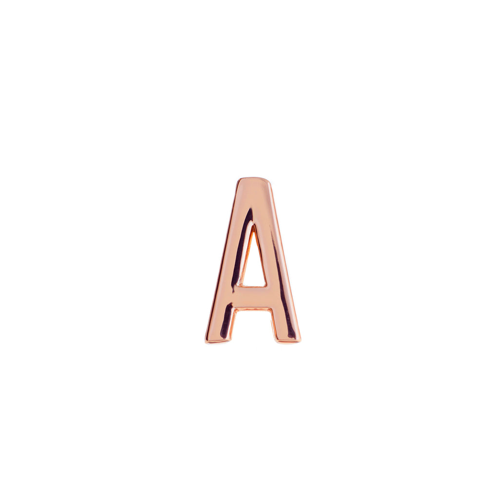 Buckle Up Rose Gold A Charm