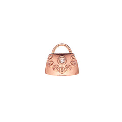Buckle Up Rose Gold Handbag Charm