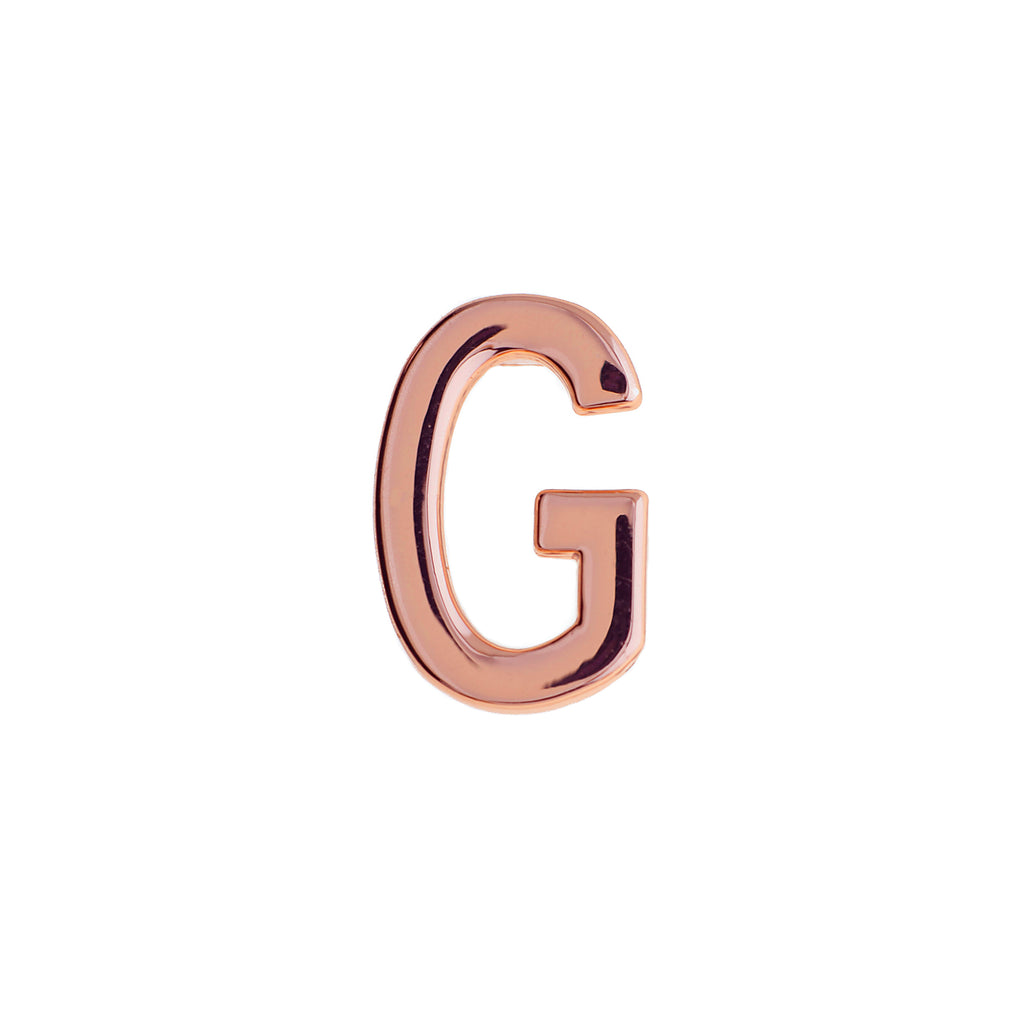 Buckle Up Rose Gold G Charm