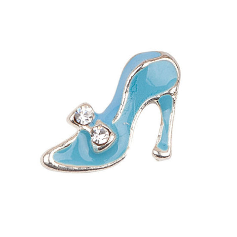 Blue High Heel Charm