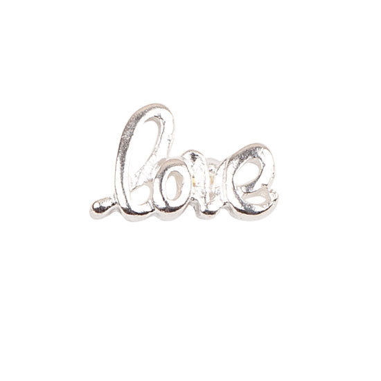 Love Charm (Silver joined writing)