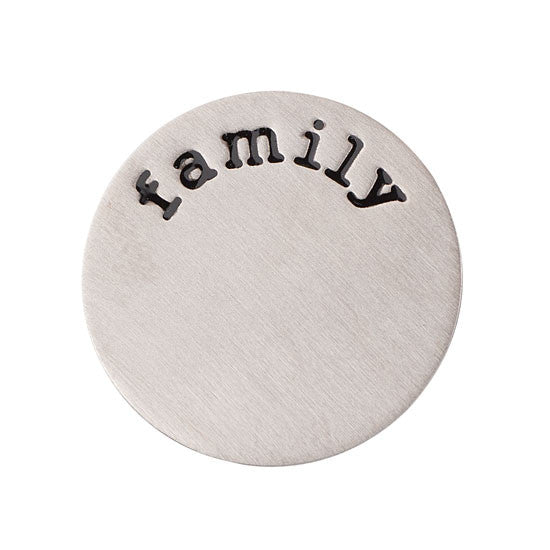 Family Halo (Plate) Silver