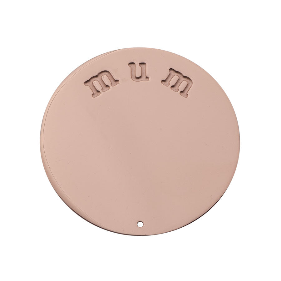Mum Halo (Plate) Rose Gold