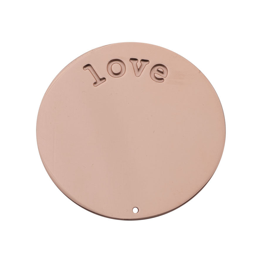 Love Halo (Plate) Rose Gold