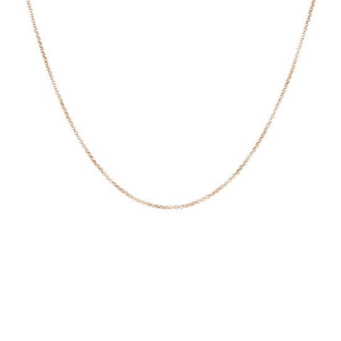 ROSE GOLD ROLO CHAIN